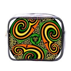 Celtic Celts Circle Color Colors Mini Toiletries Bags by Nexatart