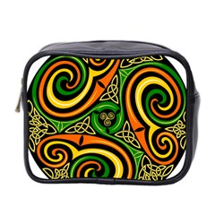 Celtic Celts Circle Color Colors Mini Toiletries Bag 2 Side by Nexatart