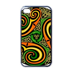 Celtic Celts Circle Color Colors Apple Iphone 4 Case (black)