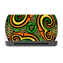 Celtic Celts Circle Color Colors Memory Card Reader With Cf