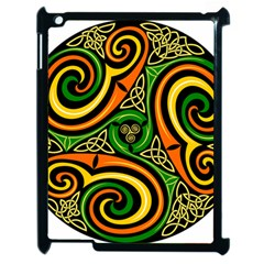 Celtic Celts Circle Color Colors Apple Ipad 2 Case (black)