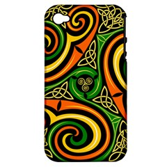 Celtic Celts Circle Color Colors Apple Iphone 4/4s Hardshell Case (pc+silicone)