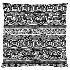 Ethno Seamless Pattern Large Cushion Case (two Sides)