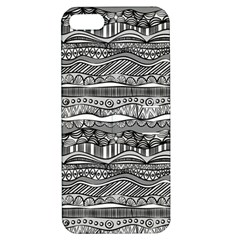 Ethno Seamless Pattern Apple Iphone 5 Hardshell Case With Stand