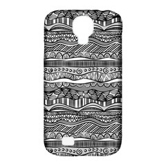 Ethno Seamless Pattern Samsung Galaxy S4 Classic Hardshell Case (pc+silicone)