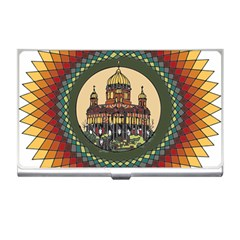 Building Mandala Palace Business Card Holders by Nexatart