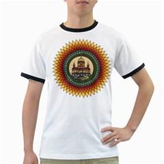 Building Mandala Palace Ringer T Shirts