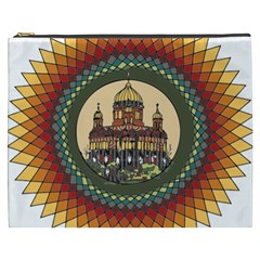 Building Mandala Palace Cosmetic Bag (xxxl)