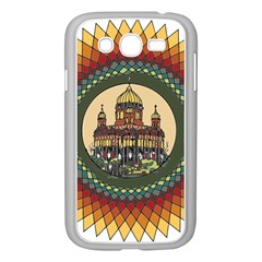 Building Mandala Palace Samsung Galaxy Grand Duos I9082 Case (white)