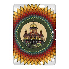 Building Mandala Palace Kindle Fire Hdx 8 9  Hardshell Case by Nexatart