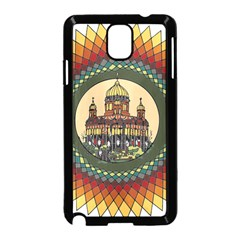 Building Mandala Palace Samsung Galaxy Note 3 Neo Hardshell Case (black)