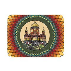 Building Mandala Palace Double Sided Flano Blanket (mini)