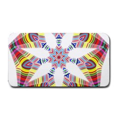 Colorful Chromatic Psychedelic Medium Bar Mats