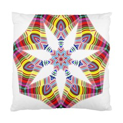 Colorful Chromatic Psychedelic Standard Cushion Case (one Side)