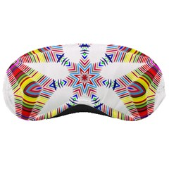 Colorful Chromatic Psychedelic Sleeping Masks