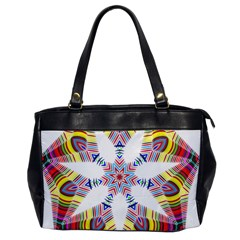 Colorful Chromatic Psychedelic Office Handbags by Nexatart