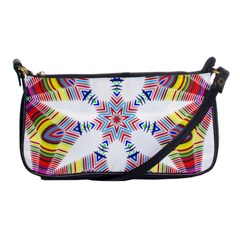 Colorful Chromatic Psychedelic Shoulder Clutch Bags by Nexatart