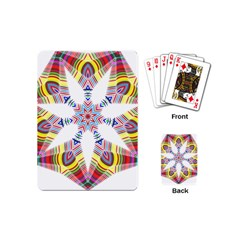 Colorful Chromatic Psychedelic Playing Cards (mini)