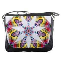 Colorful Chromatic Psychedelic Messenger Bags
