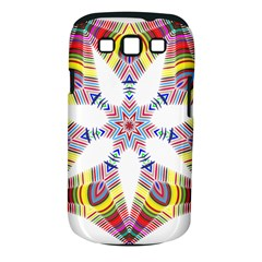 Colorful Chromatic Psychedelic Samsung Galaxy S Iii Classic Hardshell Case (pc+silicone) by Nexatart