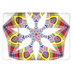 Colorful Chromatic Psychedelic Samsung Galaxy Tab 10 1  P7500 Flip Case