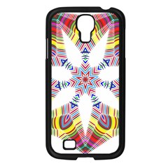 Colorful Chromatic Psychedelic Samsung Galaxy S4 I9500/ I9505 Case (black)