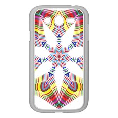 Colorful Chromatic Psychedelic Samsung Galaxy Grand Duos I9082 Case (white)