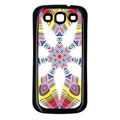Colorful Chromatic Psychedelic Samsung Galaxy S3 Back Case (black)