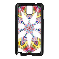 Colorful Chromatic Psychedelic Samsung Galaxy Note 3 N9005 Case (black)