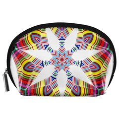 Colorful Chromatic Psychedelic Accessory Pouches (large)