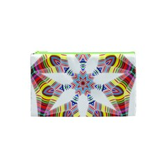 Colorful Chromatic Psychedelic Cosmetic Bag (xs)