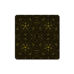 Majestic Pattern F Square Magnet by MoreColorsinLife
