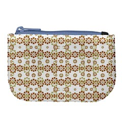 Multicolor Graphic Pattern Large Coin Purse by dflcprints
