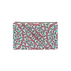 Multicolor Graphic Pattern Cosmetic Bag (small)  by dflcprints