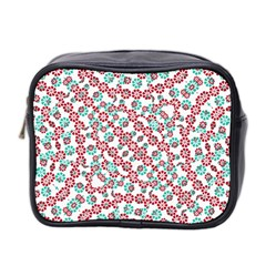 Multicolor Graphic Pattern Mini Toiletries Bag 2 Side by dflcprints