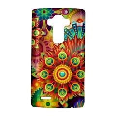 Colorful Abstract Pattern Kaleidoscope Lg G4 Hardshell Case by paulaoliveiradesign