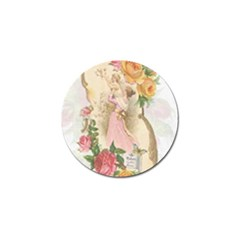 Vintage Floral Illustration Golf Ball Marker (10 Pack) by paulaoliveiradesign