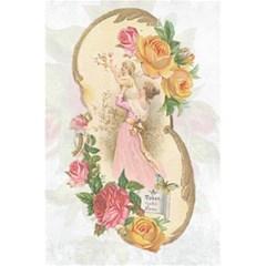 Vintage Floral Illustration 5 5  X 8 5  Notebooks by paulaoliveiradesign