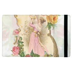 Vintage Floral Illustration Apple Ipad Pro 9 7   Flip Case by paulaoliveiradesign