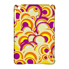 Retro Pattern 1973f Apple Ipad Mini Hardshell Case (compatible With Smart Cover) by MoreColorsinLife