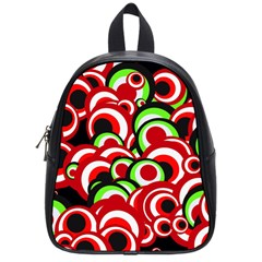 Retro Pattern 1973c School Bag (small) by MoreColorsinLife