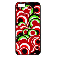 Retro Pattern 1973c Apple Iphone 5 Seamless Case (black) by MoreColorsinLife