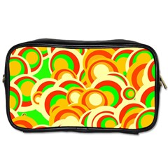 Retro Pattern 1973a Toiletries Bags 2 Side by MoreColorsinLife