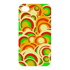 Retro Pattern 1973a Apple Iphone 4/4s Premium Hardshell Case by MoreColorsinLife