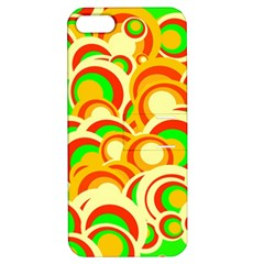 Retro Pattern 1973a Apple Iphone 5 Hardshell Case With Stand by MoreColorsinLife