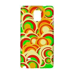 Retro Pattern 1973a Samsung Galaxy Note 4 Hardshell Case by MoreColorsinLife