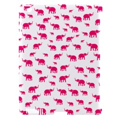 Elephant Pattern Apple Ipad 3/4 Hardshell Case (compatible With Smart Cover) by stockimagefolio1