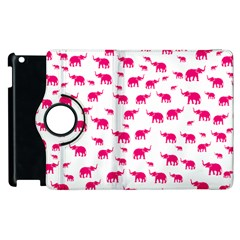 Elephant Pattern Apple Ipad 3/4 Flip 360 Case by stockimagefolio1