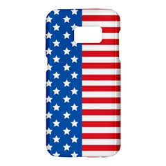Usa Flag Samsung Galaxy S7 Hardshell Case  by stockimagefolio1