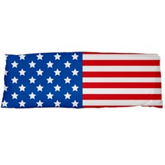 Usa Flag Body Pillow Case Dakimakura (two Sides) by stockimagefolio1